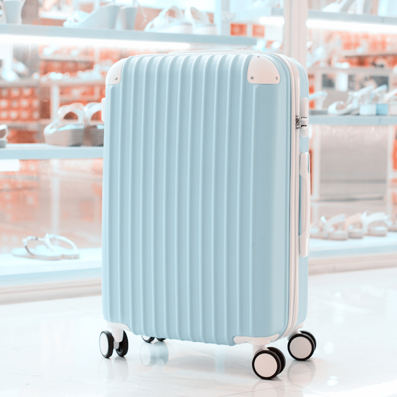 Pull-rod suitcase, female cardan suitcase, male suitcase, ins net red 20 student code Korean version suitcase 22 inches 24