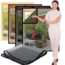 Moustiquaires Auto-Adhésif Type Fenêtre Écran Rideau Velcro sable fenêtre écran magnétique Rideau autonome amovible non-perforé