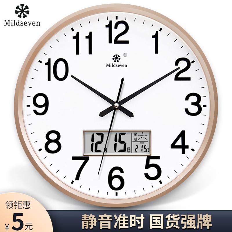 Clock 錶 clock living room fashion creative personality clock wall watch simple home silent electronic quartz clock wall