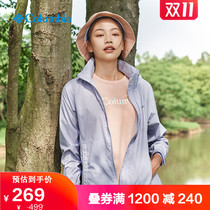 Classic Columbia Colombian outdoor womens outdoor can be collected skin clothing WK0127