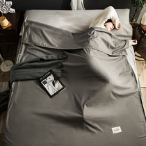 Dirty hotel sleeping bag portable travel sleeper artifact ultra light out of the double bed single Four Seasons General section