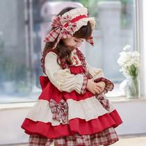 Original genuine Lolita childrens skirt lolita berry girl dress girl baby dress princess skirt
