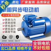 Three-phase energy saving o. Commercial copper core motor national standard 0.55 0.75 1.1 1.5 2.2 3 4kw two-phase