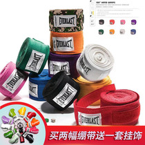 EVERLAST HAND WRAPS Boxing Muay Thai Fight Sport Bandage Strap Hand Guard With A Slight bullet