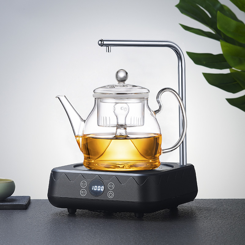 Glass tea-making machine small green citrus special tea-making machine high-temperature steam brewing teapot thick Puer electric pottery oven to make tea