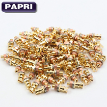 Shed rivet pure copper plating gold-plated shed nails scaffolding copper nail plate foot bar DIY amplifier PCB board