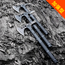 Strengthen the axe knife Mountain blade big Chop Multi-function axe outdoor special Field weapon soldier Tomahawk anti-hand axe