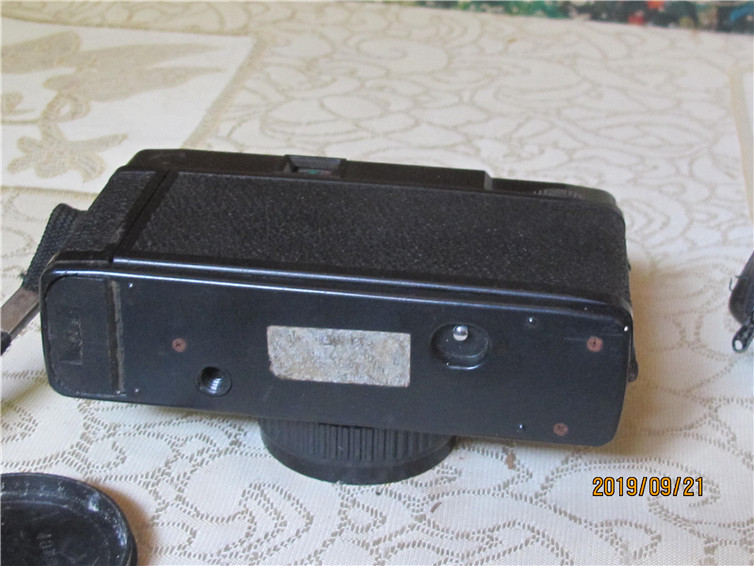 Pearl River old-fashioned glue camera F35E model old version of the camera shutter normal 80s Guangzhou production package old