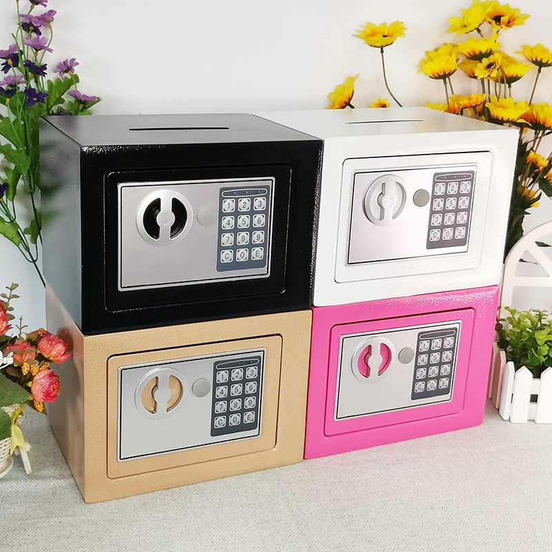 Safe girl heart small vault small mini home anti-theft stealth parts storage safe large capacity