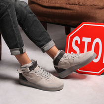 New Mens shoes air__ Force AF1 Air Forces one woman dark gray couple casual plate shoes 807618