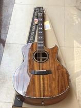 Acacia Wood full Single guitar 5A premium Spruce Rosewood Full single ballad guitar Handmade Master Class