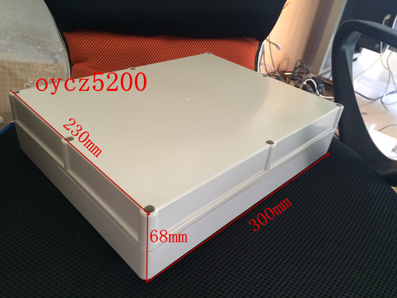 K31-2 lithium battery shell 300*230*68MM battery shell waterproof box shell plastic box