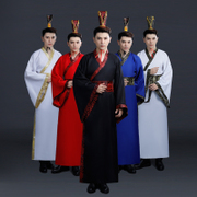 Knight costume male scholar knight errant martial arts film studio photos Hanfu clothing will show wit