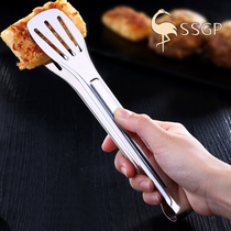 Thickened 304 stainless steel food clip kitchen Clip barbecue clip steak clip steamed bun Bread Clip Food Barbecue Clip