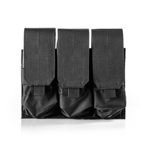 Tactical Accessory Pack 6094 Tactical Vest Accessories Package Triple kit Water cartridge set Molle triple bag