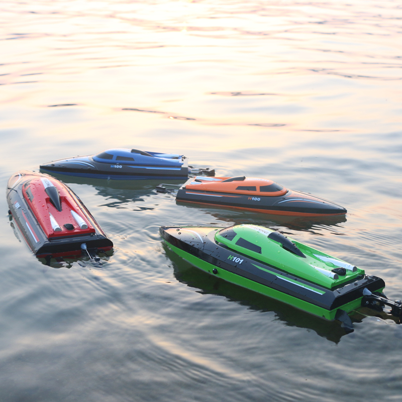 Tianke remote control boat speedboat charging super-large ship model high-speed water-cooled waterproof rowing boat childrens water toys