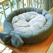 The small dog kennel dog of medium size Teddy round nest cat pet pet nest warm winter seasons washable