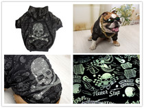 British bull Bulldog method fight bully dog fat dog clothes brother dog clothes reflective belt drill hooded sweater