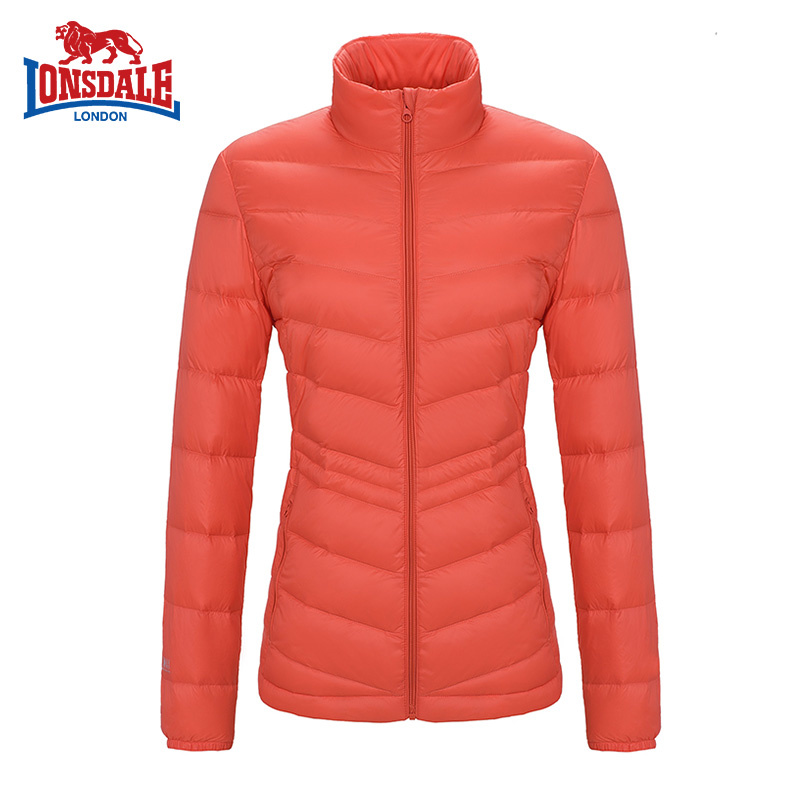 Dragon and lion outdoors, autumn and winter, new light, down jacket, female short collar, slim 232321999