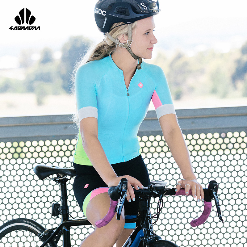 Short sleeve suit for girls in SUMMER cycling suit