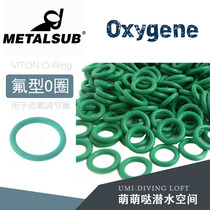 DIN head O-ring regulator first-stage head oxygen-adjustable O-ring VITON O-RING maintenance service fittings