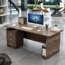 Simple desk Single desktop computer desk Boss staff combination Economical four-person supervisor desk Manager desk