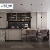 Cabinet custom kitchen overall small apartment simple economy quartz countertops overall home decoration whole house custom