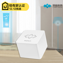 LinkedIn N1 Intelligent Gateway Intelligent Home control system app controllable intelligent switch doorbell bulb