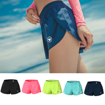 2018 new Womens Beach shorts fast dry summer South Korea loose Leisure Thai seaside holiday multicolor surfing pants