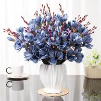 Обеденный стол поддельные цветы украшения дома Интерьер журнальный столик моделирование положить цветы гостиная украшения украшения творческие свадебные цветы