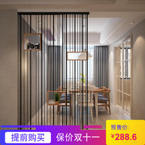 Screen partition living room Small House Restaurant Cafe office hollowed simple decoration partition Xuan closed frame