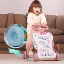 Baby Toddler Trolley Baby multi-function music can lift anti-side flip June-1 August Adjustable speed Walker
