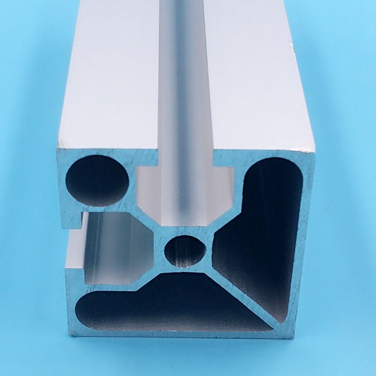 4040 National Standard Industrial Aluminum Profile Electrophoresis Surface Pipeline Frame Bracket 40*40 Two-sided Sealing Groove