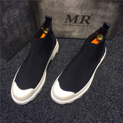The spirit of small high shoes shoes summer Martin boots all-match trend of Korean tide Martin shoes platform shoes