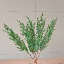 Wreath material DIY rattan Christmas simulation pine and cypress branches fake leaves decorative flower arrangement jewelry Home