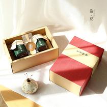 Honey box Jam gum loquat paste box thickened high-grade red drawer box birds nest dried fruit gift Box