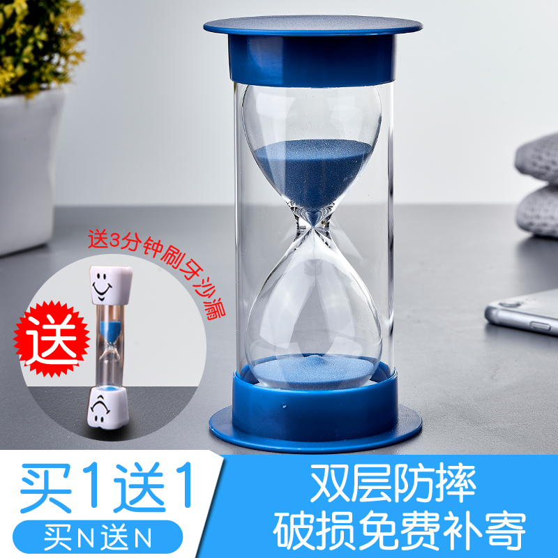 Hourglass Timer Children Timing Time Anti-falling Ornaments Creative Individual Home Jewelry Birthday Small Gift Water Drops