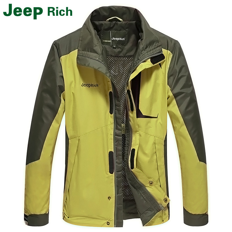 Men's Jackets Set Outdoor Mountaineering Wear Spring and Autumn New Jackets Men's Sports Warm Jacket Waterproof and Windproof