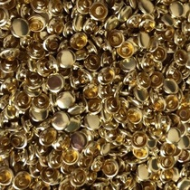 8mm pure copper double-sided rivets 100 sets diy handmade leather goods