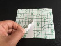 1000 pieces of 190 yuan 10*12 plaster Waterproof film Huangfu Hall spare anti-allergic film bath blank Sticker