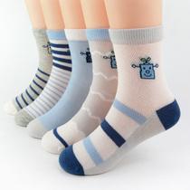 Мальчики носки летние тонкие детские хлопчатобумажная Сетка дышащая весна и осень мужчины 12-15 лет средний ребенок лето