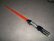 Foreign Lightsaber Star War Power Action Spring As Is Darth Vader Red Lightsaber Boy Toy
