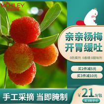 Beaver Hi Mile Yang Meiguo dry pregnant womens snacks early pregnancy Yang Mei pregnant women eat small snacks sour snacks