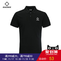 2018 prospective summer new male short sleeve polo shirt men Big Code Sports Outdoor casual breathable T-shirt
