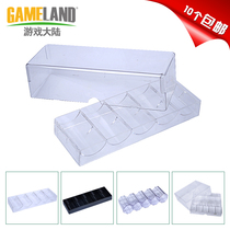Game continental 100 chip 200 chip chip holder acrylic chip tray Texas Holdem mahjong chess room chip box