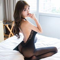 Sexually amusing clothes tumultuous pajamas without taking off passion suits uniforms seduce pajamas 牀 teasing on the skirt