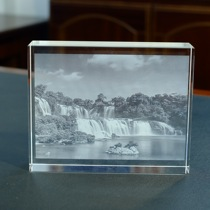 Tak tian waterfall Crystal painting pendant Great Falls Crafts features craft landscape custom tourist souvenirs