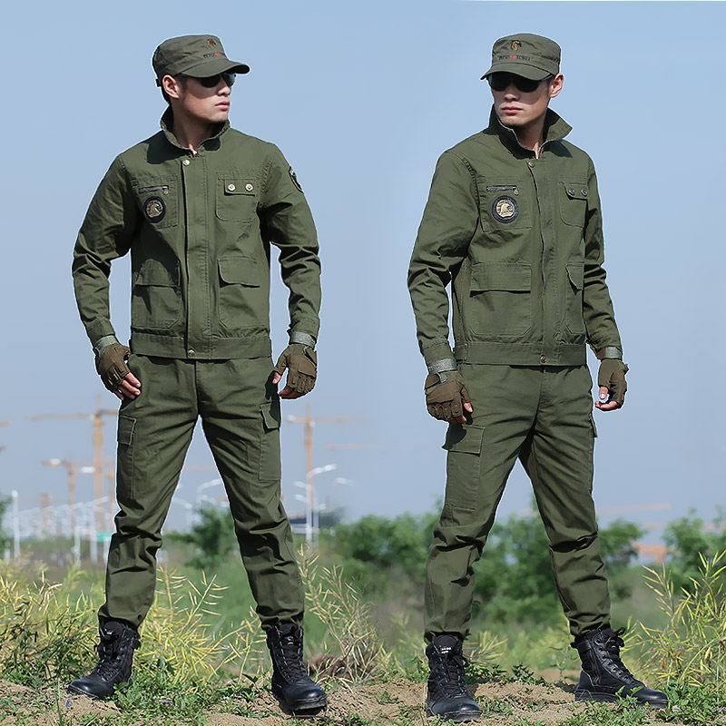 Authentic summer and summer camouflage suits, men's uniform, special forces, field training, Chinese military uniform, labor insurance clothing
