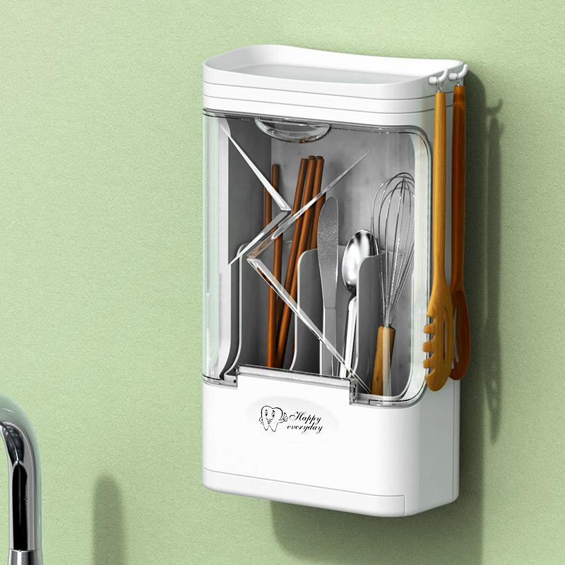 Ультрафиолетовая дезинфекция палочки трубки домашней многофункциональной кухни хранения полки небольшой настенной посуды дезинфекции машины