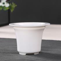 Dehua white porcelain fair cup tea leak tea filter set of ceramic filter tea leak tea accessories funnel tea ceremony zero matching.